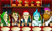Scrooge videoslot, Christmas fun includes a Xmas calendar countdown for free spins